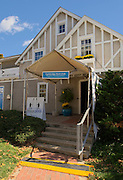 Cambridge. MA. USA. Entrance to Cambridge Boathouse.<br /> <br /> Saturday  19/10/2013 <br /> <br /> [Mandatory Credit. Peter SPURRIER /Intersport Images]