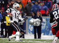 Tom Brady scrambles and slides, New England Patriots @ Buffalo Bills, 11 Dec 05, 1pm, Ralph Wilson Stadium, Orchard Park, NY