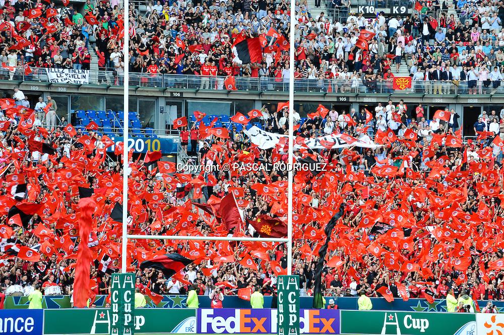 HCUP-finale-stade de france - paris -<br /> <br /> Stade Toulousain 21<br /> Biarritz Olympique 19<br /> Toulouse'supporters