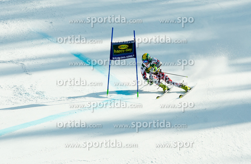SCHOERGHOFER Philipp of Austria during Men Giant Slalom race of FIS Alpine Ski World Cup 54th Vitranc Cup 2015, on March 14, 2015 in Kranjska Gora, Slovenia. Photo by Vid Ponikvar / Sportida