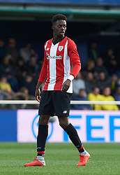 January 20, 2019 - Villarreal, Castellon, Spain - Inaki Williams of Athletic Club de Bilbao during the La Liga Santander match between Villarreal and Athletic Club de Bilbao at La Ceramica Stadium on Jenuary 20, 2019 in Vila-real, Spain. (Credit Image: © Maria Jose Segovia/NurPhoto via ZUMA Press)