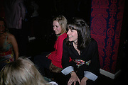 Lady Laura Cathcart, LAUNCH OF 'UPSTAIRS' AT MAMILANJI. Hosted by Edward Taylor, Matthew Law, Milan lebloch and Geena Dutt.  107 King's Rd. London. 19 April 2007.  -DO NOT ARCHIVE-© Copyright Photograph by Dafydd Jones. 248 Clapham Rd. London SW9 0PZ. Tel 0207 820 0771. www.dafjones.com.