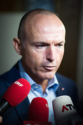 25.08.2014, Parlament, Wien, AUT, SPOe, Sitzung des Parteipraesidium. im Bild Verteidigungsminister Gerald Klug // Defenceminister Gerald Klug before Executive Committee meeting of SPOe at Austrian Parliament in Vienna, Austria on 2014/08/25 EXPA Pictures © 2014, PhotoCredit: EXPA/ Michael Gruber