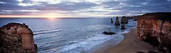 AUSTRALIA VICTORIA GREAT OCEAN ROAD 10FEB08 - View of the Twelve Apostles during sunset, one of Australia's famous landmarks, Victoria, Australia...jre/Photo by Jiri Rezac..© Jiri Rezac 2008..Contact: +44 (0) 7050 110 417.Mobile:  +44 (0) 7801 337 683.Office:  +44 (0) 20 8968 9635..Email:   jiri@jirirezac.com.Web:    www.jirirezac.com..© All images Jiri Rezac 2008 - All rights reserved.