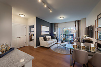 Interior image of Verde II at Howard Square Apartments in Baltimore MD by Jeffrey Sauers of CPI Productions