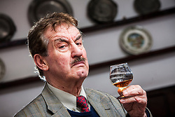 "John Challis, best known for his role as Terrance Aubrey ""Boycie"" Boyce in the BBC television comedy series Only Fools and Horses, and its 2005 spin-off The Green Green Grass. Pic in The Feathers Hotel, Ludlow.<br /> Scotland Independent feature, Ludlow.<br /> © Michael Schofield."