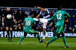 Massimo Luongo of Queens Park Rangers shoots at goal - Mandatory by-line: Robbie Stephenson/JMP - 15/02/2019 - FOOTBALL - Loftus Road - London, England - Queens Park Rangers v Watford - Emirates FA Cup fifth round proper