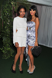 Left to right, NAOMIE HARRIS and JAMEELA JAMIL at the Glamour Women of The Year Awards 2011 held in Berkeley Square, London W1 on 7th June 2011.