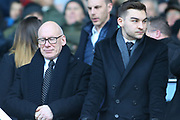 Derby County owner Mel Morris  during the EFL Sky Bet Championship match between Derby County and Hull City at the Pride Park, Derby, England on 18 January 2020.