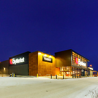 Real estate photography at a Calgary shopping center for use on advertising and marketing materials and property leasing information available to prospective tenants of the property.<br /> <br /> &copy;2017, Sean Phillips<br /> http://www.RiverwoodPhotography.com