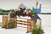 Sergio Alvarez Moya - Action Breaker<br /> Alltech FEI World Equestrian Games™ 2014 - Normandy, France.<br /> © DigiShots