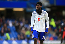 Ola Aina of Chelsea warms up - Mandatory by-line: Jason Brown/JMP - 26/12/2016 - FOOTBALL - Stamford Bridge - London, England - Chelsea v Bournemouth - Premier League
