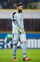 FUSSBALL INTERNATIONAL  Testspiel   Italien - Rumaenien        17.11.2015 Torwart Salvatore Sirigu (Italien)