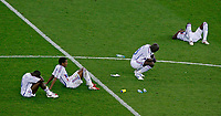 Photo: Glyn Thomas.<br />Italy v France. FIFA World Cup 2006 Final. 09/07/2006.<br /> French players are dejected.