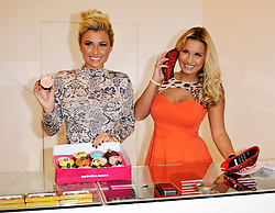 © Licensed to London News Pictures. 02/02/2013. Bristol, UK. Billie and Sam Faiers from TOWIE at the opening of the Minnies Boutique pop-up shop in Bristol's Cabot Circus shopping centre.  02 February 2013..Photo credit : Simon Chapman/LNP