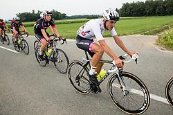 Aljaz Prah (SLO) of Rog - Ljubljana, Ziga Jerman (SLO) of Rog - Ljubljana during Stage 2 of 24th Tour of Slovenia 2017 / Tour de Slovenie from Ljubljana to Ljubljana (169,9 km) cycling race on June 16, 2017 in Slovenia. Photo by Vid Ponikvar / Sportida