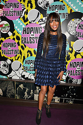 NAOMI CAMPBELL at Hoping's Greatest Hits - the 10th Anniversary of The Hoping Foundation's charity benefit held at Ronnie Scott's, 47 Frith Street, Soho, London on 16th June 2016.