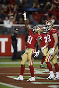 San Francisco 49ers running back Jeff Wilson (41) in action during the 2018 NFL preseason week 4 football game against the Los Angeles Chargers on Thursday, Aug. 30, 2018 in Santa Clara, Calif. The Chargers won the game 23-21. (©Paul Anthony Spinelli)