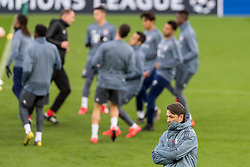LIVERPOOL, ENGLAND - Monday, February 18, 2019: FC Bayern München's manager Niko Kovač during a training session at Anfield ahead of the UEFA Champions League Round of 16 1st Leg match between Liverpool FC and FC Bayern München. (Pic by Paul Greenwood/Propaganda)