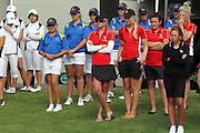 Closing Ceremony. 2011 Toro New Zealand Women's Interprovincial, Final Round, Saturday 10 Decmenber 2011. Whakatane Golf Club, Whakatane, New Zealand. Saturday 10 Decmenber 2011. Photo: Mark McKeown/PHOTOSPORT
