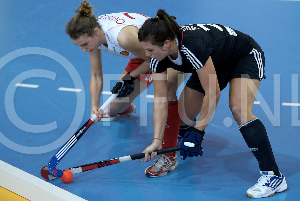 Prague - EuroHockey Indoor Championship (W) 2014<br /> 11 GER v ENG (Pool A)<br /> foto: Julia Muller.<br /> FFU PRESS AGENCY COPYRIGHT FRANK UIJLENBROEK