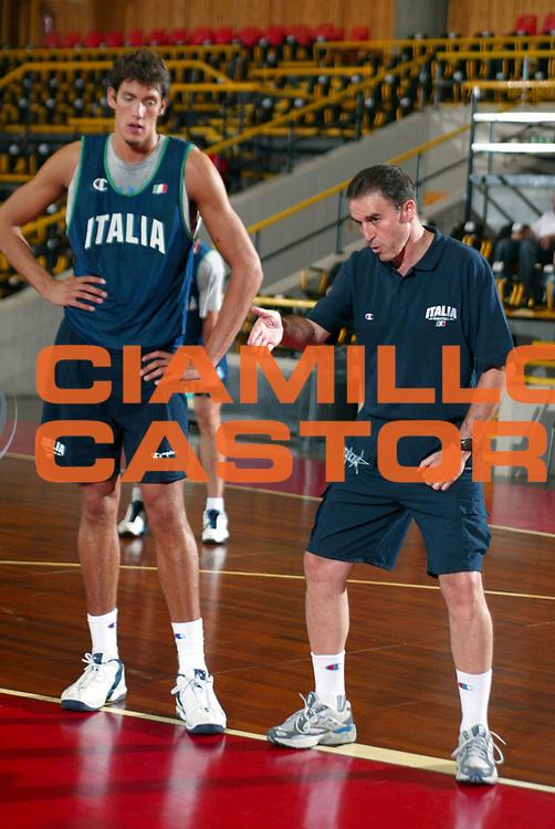 DESCRIZIONE : RITIRO BORMIO GIOCATORE : CARLO RECALCATI,' ALESSANDRO CITTADINI SQUADRA : Nazionale Italia DATA : 2010-01-06CATEGORIA : SPORT :  AUTORE : AGENZIA CIAMILLO & CASTORIA/G.Ciamillo