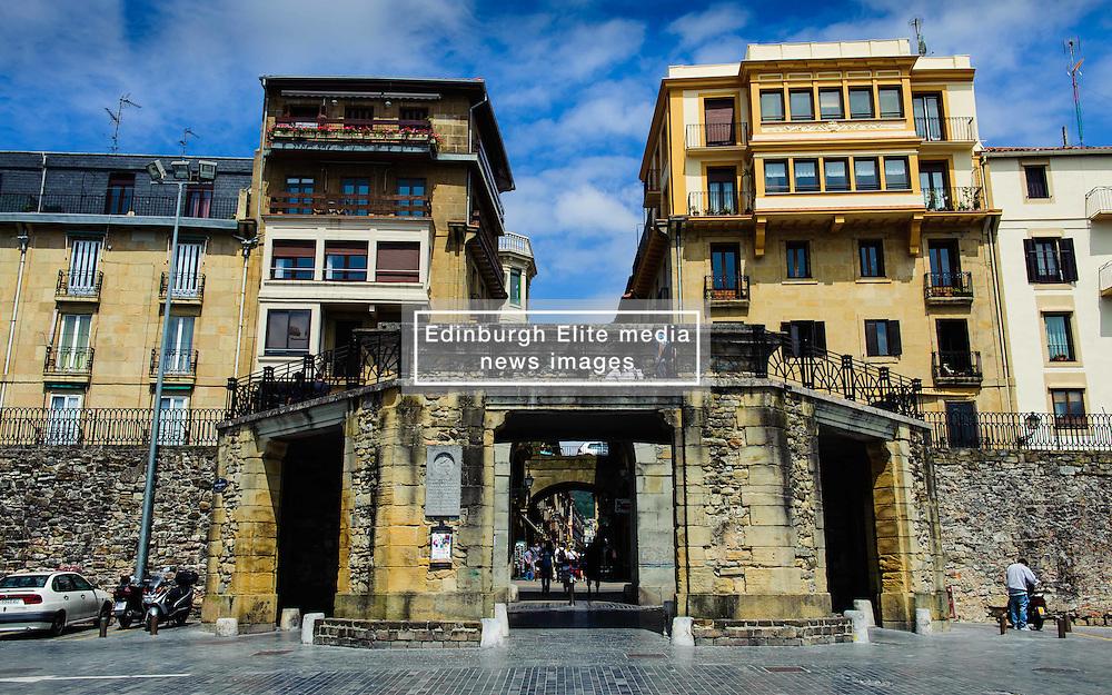 Street scene in Donostia-San Sebastian, Cantabria, Spain<br /> <br /> (c) Andrew Wilson | Edinburgh Elite media