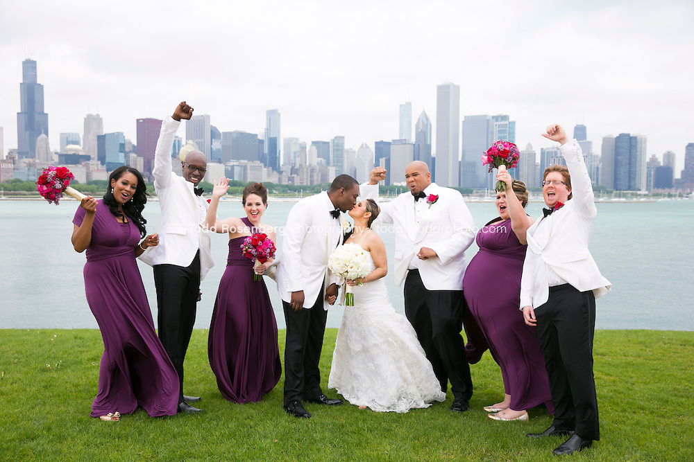 5/21/13 10:49:24 AM .The wedding of April and Sakou on Windy City Live... . © Todd Rosenberg Photography 2013