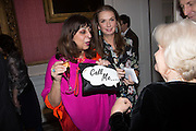 LADY NAIPAUL; NANCY SLADEK; PRIMROSE JOHNSON, The Literary Review Bad Sex in Fiction Award 2014. The In and Out ( Naval and Military ) Club, 4 St. James's Sq. London SW1. 3 December 2014.