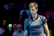 Kevin Anderson of South Africa during the Nitto ATP World Tour Finals at the O2 Arena, London, United Kingdom on 15 November 2018. Picture by Martin Cole. Photo by Martin Cole