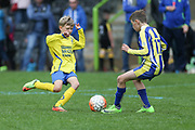 Match action during the Forest Green Rovers 2017 Grundon Youth Tournament at the New Lawn, Forest Green, United Kingdom on 13 May 2017. Photo by Shane Healey.