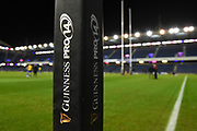 General pitch view before the Guinness Pro 14 2018_19 match between Edinburgh Rugby and Dragons Rugby at Murrayfield Stadium, Edinburgh, Scotland on 15 February 2019.