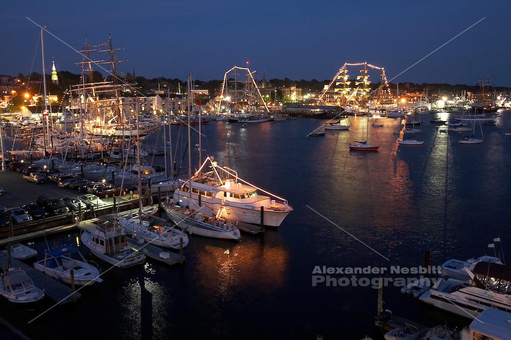 Newport, RI 2007 - Tallships from around the world congregate in Newport for the summer of 2007 Tallships festival.