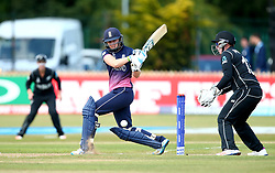 Heather Knight of England Women goes on the attack - Mandatory by-line: Robbie Stephenson/JMP - 12/07/2017 - CRICKET - The County Ground Derby - Derby, United Kingdom - England v New Zealand - ICC Women's World Cup match 21