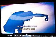 Présentation de la création de   -Les Mémoires d'un sablier – Théâtre de la Tortue Noire (Saguenay) durant le 12e Festival de Casteliers, marionnettes pour adultes et enfants - 2017 à  Theatre Outremont / Montreal / Canada / 2017-03-12, Photo © Marc Gibert / adecom.ca