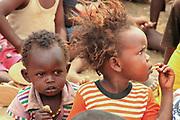 Samburu Maasai children. Samburu Maasai an ethnic group of semi-nomadic people Photographed in Samburu, Kenya