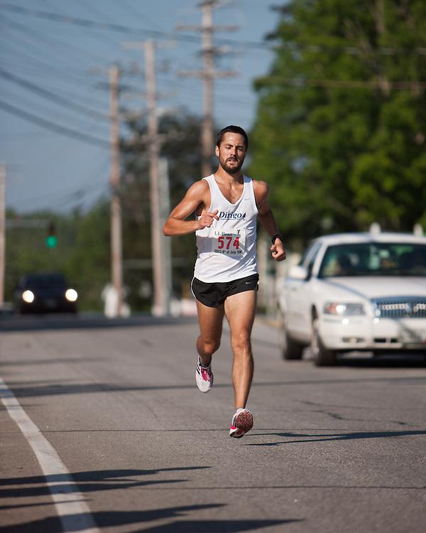 LL Bean 10K road race: Open Men winner Robert Gomez