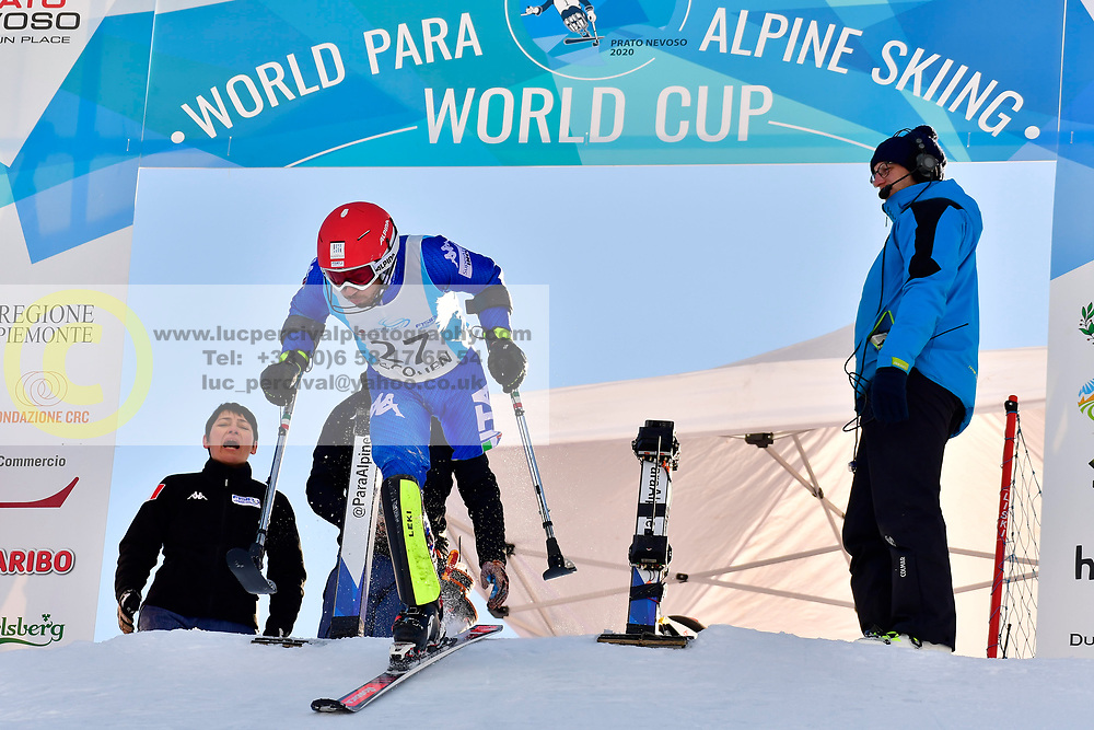 BENDOTTI Davide, LW2, SVK at the World ParaAlpine World Cup Prato Nevoso, Italy