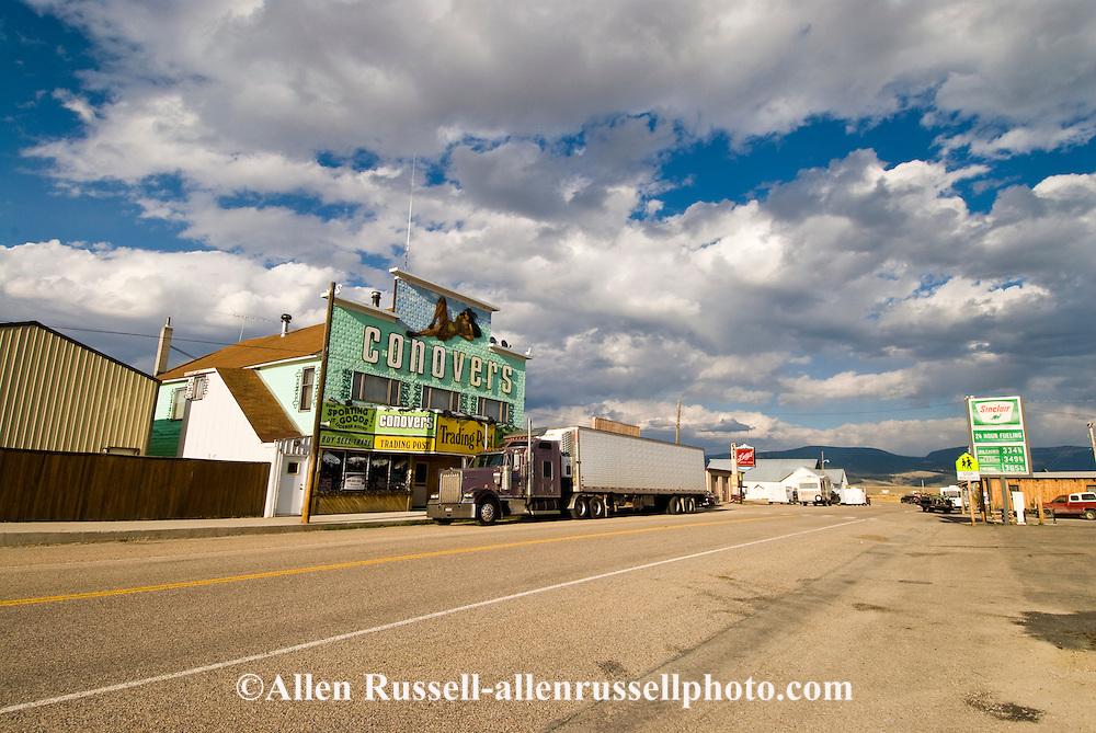 Wisdom, Big Hole Valley, Southwest Montana, Conovers no longer exist now Hook & Horn
