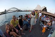 Sydney Opera House, Harbour Bridge.