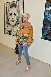 Denise Welch at the START Art Fair - Preview Evening held at the Saatchi Gallery, Duke of York's HQ, King's Road, London on 25th September 2019.