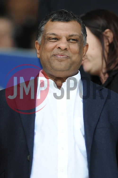QPR chairman, Tony Fernandes - Photo mandatory by-line: Dougie Allward/JMP - Mobile: 07966 386802 - 16/05/2015 - SPORT - football - London - Loftus Road - QPR v Newcastle United - Barclays Premier League