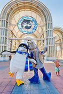 chacters at SeaWorld