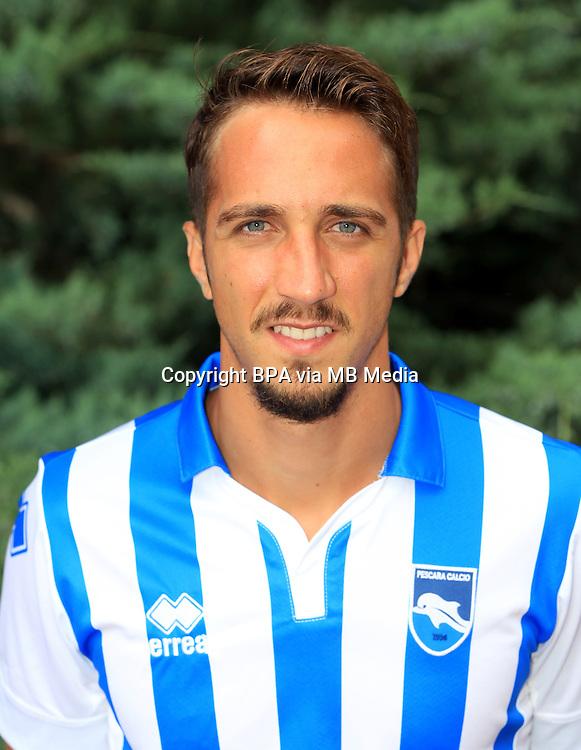 Italian League Serie A -2016-2017 / <br /> ( Delfino Pescara Calcio 1936 ) - <br /> Antonio Mazzotta