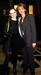 Left to right, MISS ALICE EVE and her mother actress SHARON MAUGHAN, at an award ceremony in London on 9th December 1999.MZX 54
