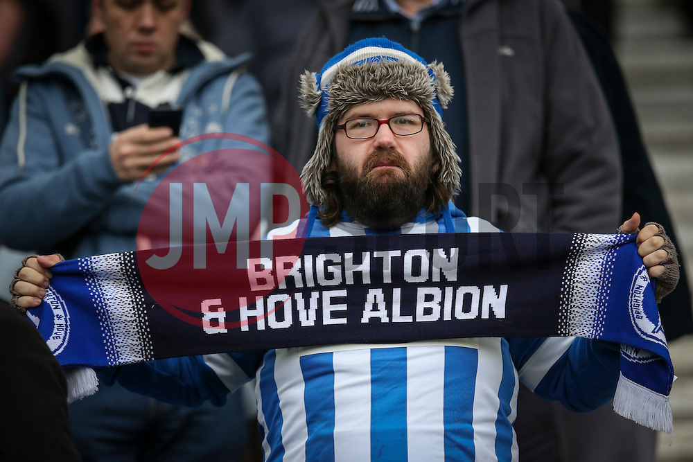 Brighton & Hove Albion fans - Mandatory byline: Jason Brown/JMP - 07966 386802 - 19/12/2015 - FOOTBALL - American Express Community Stadium - Brighton,  England - Brighton & Hove Albion v Middlesbrough - Championship