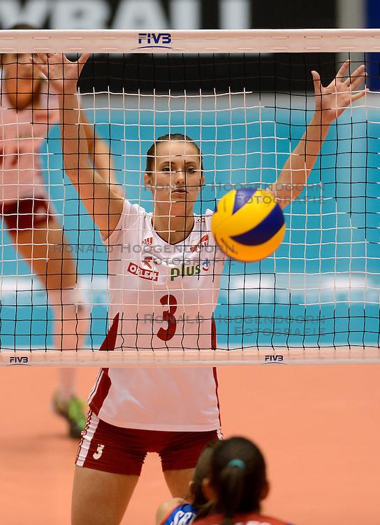 09-08-2014 NED: FIVB Grand Prix Puerto Rico - Polen, Doetinchem<br /> Katarzyna Polec