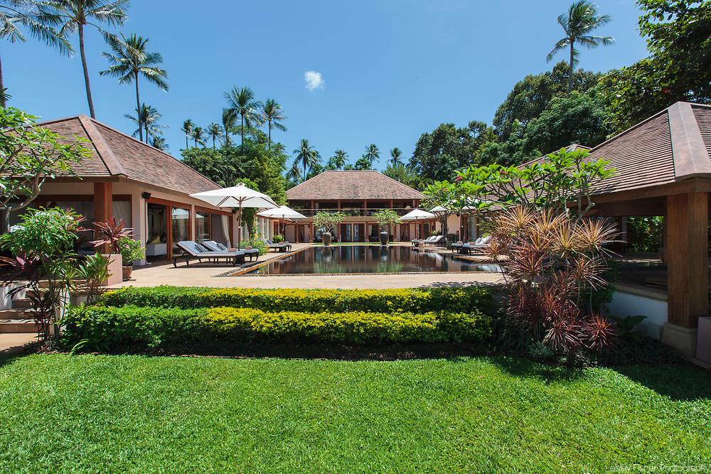 Baan Wanora, a luxury, private, beach front villa located in Laem Sor, Koh Samui, Thailand