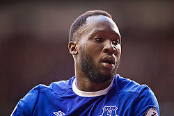 LONDON, ENGLAND - Sunday, March 5, 2017: Everton's Romelu Lukaku in action against Tottenham Hotspur during the FA Premier League match at White Hart Lane. (Pic by David Rawcliffe/Propaganda)