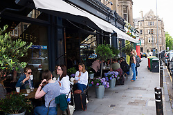 Montpeliers cafe in Bruntsfield district of Edinburgh, Scotland, United Kingdom